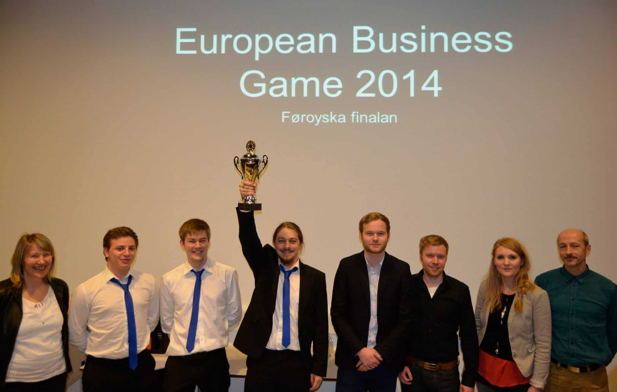 DipFish vunnu European Business Game